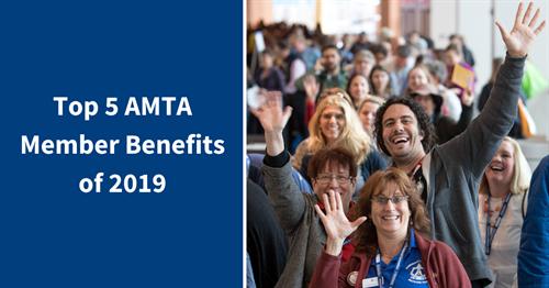 Top five AMTA member benefits